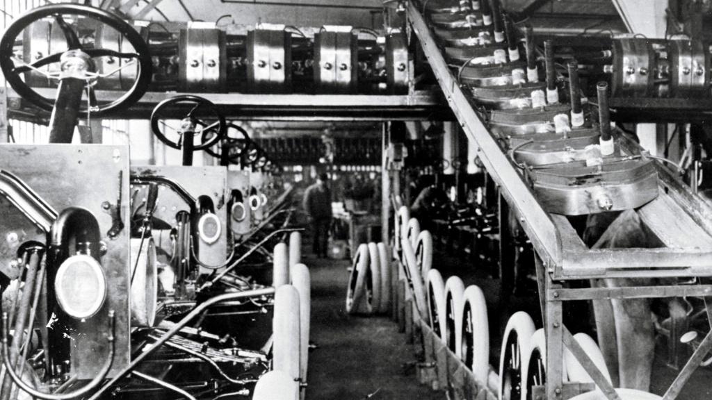 Henry Ford- El concepto de producción en serie