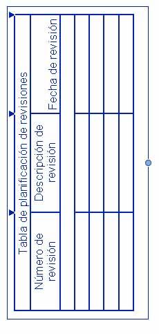 Punto azul cuyo desplazamiento permite cambiar la altura de la tabla
