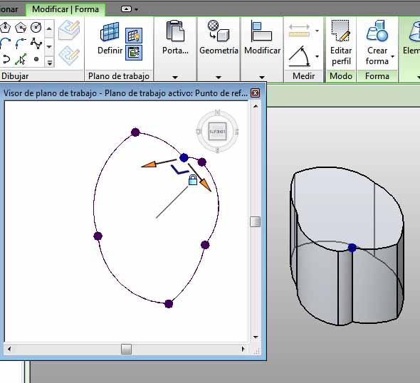 Resultado al modificar perímetro círculo