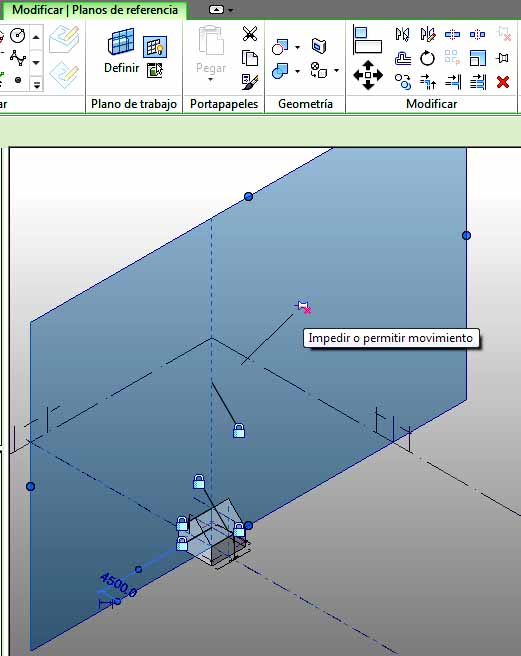 Plano de referencia 3D