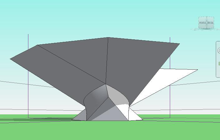 Perspectiva de la forma con Borde añadido