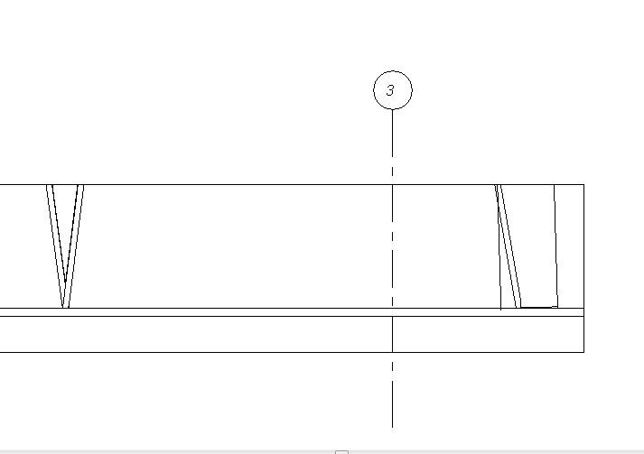 Sección vertical donde solamente se ve una de las dos rejillas