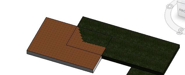 Intersección de dos suelos